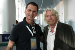 Richard Branson i Dragan Primorac