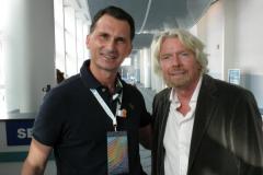 Richard Branson i Dragan Primorac