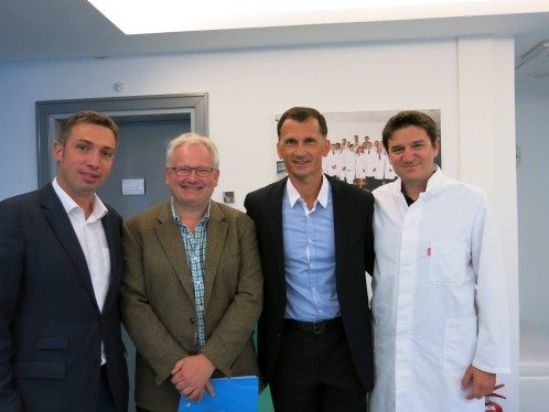 Doc.dr. Saša Missoni, prof.dr. Struan Grant, prof.dr. Dragan Primorac, doc.dr. Alen Ivković
