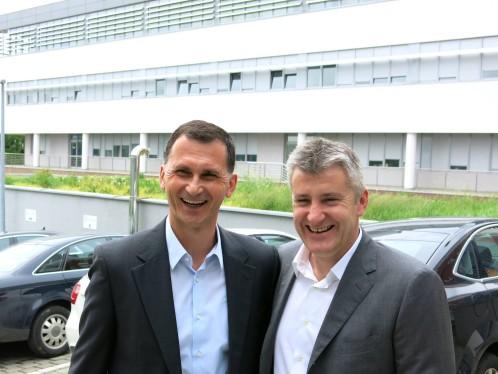 Dragan Primorac i Davor Šuker