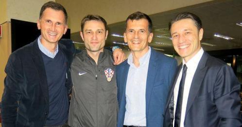 Dragan i Damir Primorac i Robert i Niko Kovač