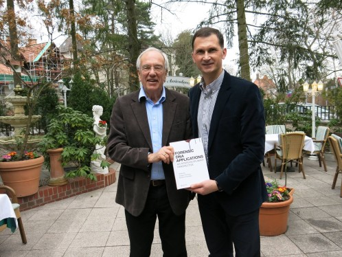 Prof. Dragan Primorac with German Senator Ulf Fink in Berlin
