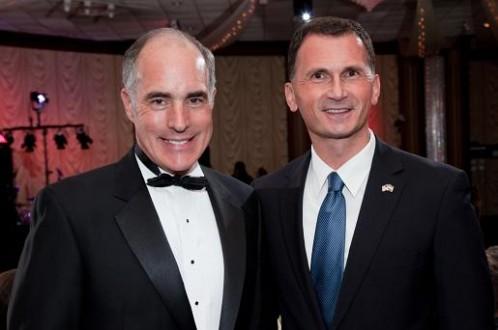 Senator Bob Casey i Dragan Primorac1
