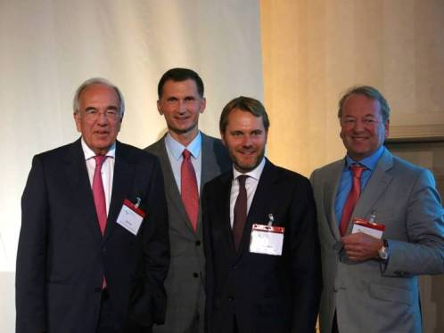 Senator Ult Fink, Dragan Primorac, Daniel Bahrom, Nikolai Burkart