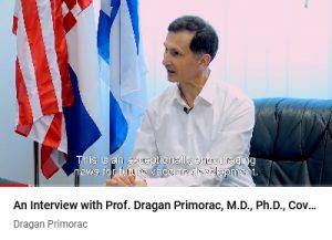 Video: Interview with Prof. Primorac in Večernji list 17. 4. 2020