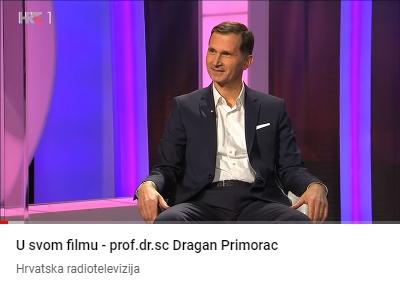 U svom filmu - prof.dr.sc Dragan Primorac